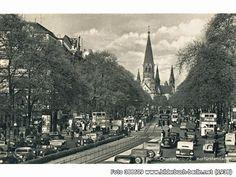 Berlin Charlottenburg Kurfürstendamm, Kurfürstendamm, Berlin (1938)