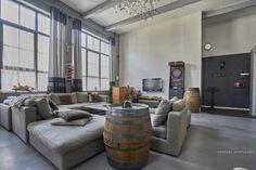 Espaces Atypiques Lille : loft terrasse maison d'architecte vente achat agence immobiliere