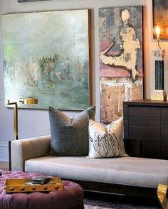 "101 Likes, 3 Comments - Darsah Interior Design (@darsahinterior) on Instagram: ""Serious art envy #interior #interiordesign #homeinterior #homedecor #furniture #darsahinterior…"""