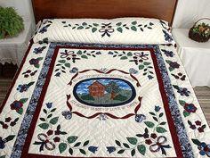 Home Sweet Home Одеяло - изумительно ловко сделал амишей Quilts из Ланкастера (hs2513)