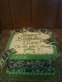 Money cake 13th Birthday Parties, Birthday Cakes, Money Cake, Make Your Mark, Beautiful Cakes, Cake Ideas, Bakery, Party Ideas, Sweets