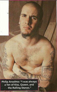 Phil Anselmo of Pantera
