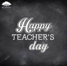 Here's to all the teachers who taught us, shaped us and made us who we are today. #HappyTeachersDay