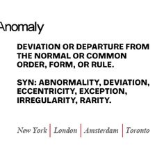 Anomaly http://www.anomaly.com/