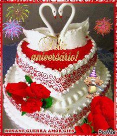 Happy Birthday Flowers Wishes, Happy Birthday Frame, Happy Birthday Cake Images, Flower Birthday Cards, Happy Birthday Candles, Birthday Frames, Birthday Wishes, Beautiful Rose Flowers, Exotic Flowers