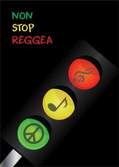 NON STOP REGGAE | Turkey | International Reggae Poster Contest