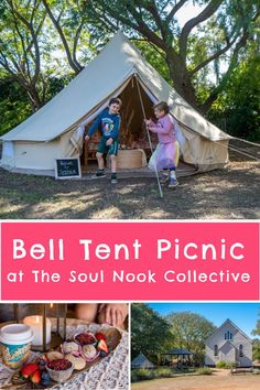 A beautiful bell tent picnic at The Soul Nook Collective is a fun, memorable family day out. Less than an hour from Brisbane, it makes for a great day trip or weekender. Queensland Australia, Australia Travel, Brisbane Cbd, Outdoor Gazebos, Australian Bush, Bell Tent, Great Schools, Family Days Out, Activities To Do