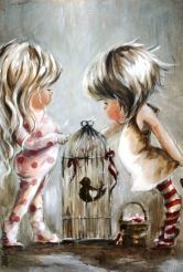 Little Girl Rooms, Little Girls, Pictures To Paint, Various Artists, Art Girl, Projects To Try, Art Gallery, Fine Art, Drawings