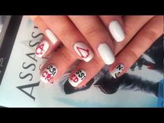 Assassin's Creed Inspired Nails