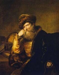 Ferdinand Bol: Portrait of a Scholar By Ferdinand Bol