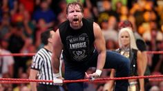 Dean Ambrose is fired up before challenging The Miz for the Intercontinental Title.