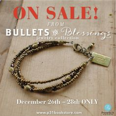"{Up to 30% OFF} ""From Bullets to Blessings Collection"" ON SALE through Dec 28th ONLY! Claiming God's promises to work good from evil, these beautiful pieces include repurposed bullets found in Ethiopian soil and are beautifully created by women who have been rescued, trained as artisans, and restored with dignity through Christ-centered ministries like Fashion & Compassion.   ORDER one for yourself and a friend as a reminder of God's promises and faithfulness"