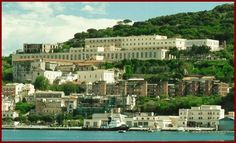 The U.S. Naval Headquarters in Gaeta Italy. This is where we had to get all our paperwork, passports, etc.