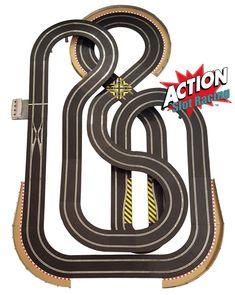 Slot Car Racing Sets, Slot Car Race Track, Slot Car Tracks, Slot Cars, Race Cars, Scalextric Track, Karting, Courses, Hot Wheels