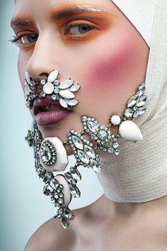 Luxurious Beard by Alex Buts, via Behance