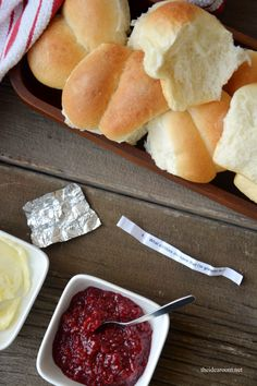 Thanksgiving Thankful Rolls - When you open them there  is a note inside!  The Idea Room