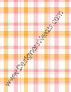 001- seamless vector plaid swatch 4 color plaid