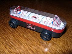 Just what I'm looking for - hockey derby car