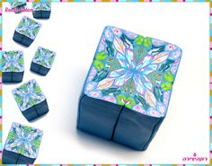 Polymer Clay Kaleidoscope Cane - Only from Scraps by Ronit Golan