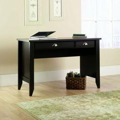 Amazon.com - Sauder Shoal Creek Desk - Jamocha Wood 53 x 21 x 5 inches $121.99