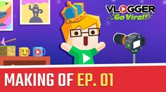Welcome to our studio! We gathered our team to talk about and explain how a game is made.   Take a look behind the scenes on Vlogger Go Viral and watch how was the conception process of Vlogger Go Viral.  Watch more episodes: https://www.youtube.com/playlist?list=PLKfK-OCTYDaWWcB1TJWQlK9PCtOiCZQHe #fashion #style #stylish #love #me #cute #photooftheday #nails #hair #beauty #beautiful #design #model #dress #shoes #heels #styles #outfit #purse #jewelry #shopping #glam #cheerfriends…