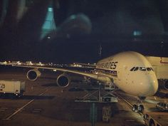 My first time on board an Airbus A380 at Heathrow Terminal 3
