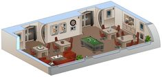 I did this one as a commission for SeekHim (seekhim.deviantart.com/). It's the Recreation room of her ship, set in the Abramsverse of Star Trek named USS Saratoga. Seekhim has written a story (A Ne...
