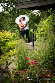 Engagement Session at Naperville Riverwalk