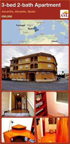 3-bed 2-bath Apartment in Jacarilla, Alicante, Spain ►€90,000 #PropertyForSaleInSpain