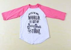 What little girl doesn't need this shirt?!