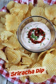 Creamy Sriracha Dip Recipe