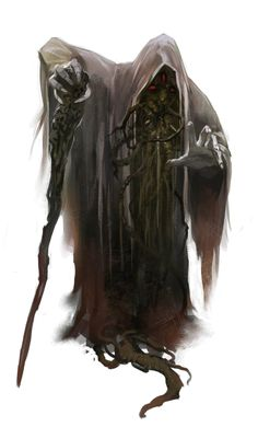 A priest of the Spider God, the deity of all Drow, the Umbral Elves
