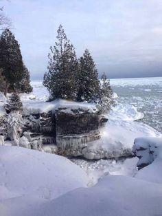 Cave Point, Door County