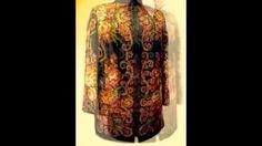 Авторская одежда из Павлопасадских платков на заказ.