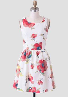 Tranquil Rhythm Floral Dress at #Ruche @Ruche