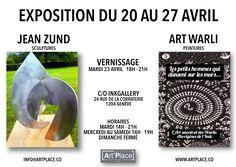 "Exposition c/o InkGallery du 20 au 27/4 ""Sculpture & Art Warli"" Vernissage mardi 23 avril 18h - 21h #art #artist #artistic #artists #arte #artwork #illustration #graphic #painting #sculpture #paintings #artplacegeneve #geneve #geneva #expo #suisse #switzerland #peinture #artsales #exhibitions #artgallery #arts #fineart #artforsale #inkgallery #warli #warliart #warlipaintings #vernissage Ink Gallery, Geneva, Exhibitions, Art For Sale, Les Oeuvres, Sculpture Art, Switzerland, Paintings, Artists"