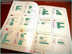 A fun new way to plan. A take on the Bullet Journal.