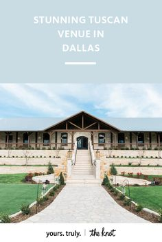 Stone walls and impeccably high ceilings make this Dallas venue a perfect reception space.