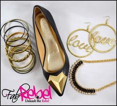 Valentine's Day Look~ @ www.fabrebel.com #shoe #flats #heels #ballerina #bold #necklaces #earrings #bracelets #colors #heart #black #accessorize #shoeslover #shoesdiva #shoecrush #fashiondiva #stylish #iloveshoes