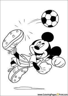 love those soccer sundays disney coloring pagescoloring