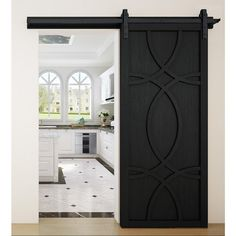 VeryCustom 36 in. x 84 in. Hollywood Midnight Wood Sliding Barn Door with Hardware – The Home Depot VeryCustom 36 in. x 84 in. Hollywood Midnight Wood Barn Door with Sliding Door Hardware – The Home Depot Wood Barn Door, Diy Barn Door, Diy Door, Barn Door Hardware, Bathroom Barn Door, Barn Door With Window, Sliding Door Closet, Window Shutters, Sliding Bathroom Doors