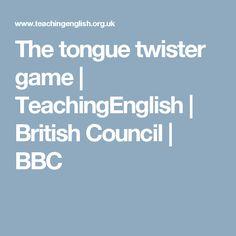 The tongue twister game | TeachingEnglish | British Council | BBC
