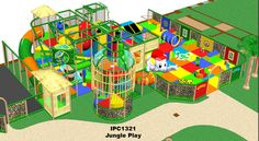Themed indoor Jungle Playground design by Iplayco. At International Play Company we design, manufacture, ship and install indoor playground equipment and interactive play solutions. We also ship and install worldwide. Make your business family friendly by adding a fun play area for the children. Our professional & knowledgeable team will work hand in hand with your team to develop a proposal that meets the needs and budge of each project. Our experienced staff can help you do it all.