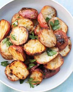 Crisp Red Potatoes w