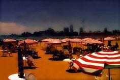 """Saatchi Art Artist ACQUA LUNA; Painting, """"37- Playa de lujo."""" #art"""