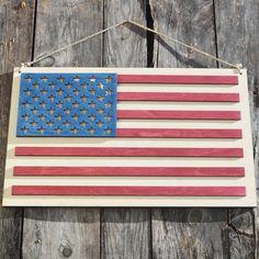 Hanging Flag On Wall wooden american marine corps flag hangingexclusivelyyourllc