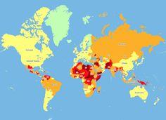 Eine instabile politische Lage, die Gefahr von Terroranschlägen oder eine hohe Kriminalitätsrate können für Urlauber ein unkalkulierbares Sicherheitsrisiko sein. Auch die medizinische Versorgung und die Straßenverhältnisse entscheiden mit darüber, wie sicher sich Reisende in einem Land fühlen und es tatsächlich auch sind. Unter Berücksichtigung dieser Faktoren zeigt eine interaktive Risiken-Karte für das kommende Jahr auf, in welchen Staaten weltweit die Sicherheit von Reisenden am meisten…