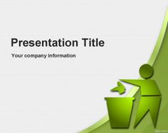 Global Environmental Recycling PowerPoint Template is a free recycle template for PowerPoint presentations
