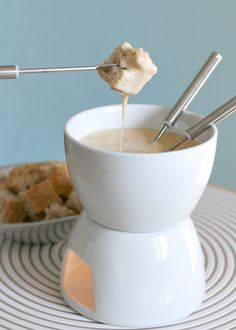Cheese Fondue with Chipotle and Tequila