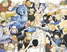 bro fist! 鋼の錬金術師 Fullmetal Alchemist, Fulmetal Alchemist, Lan Fan, Hiromu Arakawa, Alphonse Elric, Roy Mustang, Fist Bump, Edward Elric, Animation